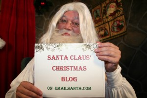 Christmas activities on emailSanta.com