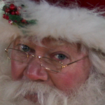 Santa Claus close-up
