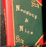 Santa's Nice List and Naughty List book
