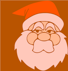A silly Santa's beard story!