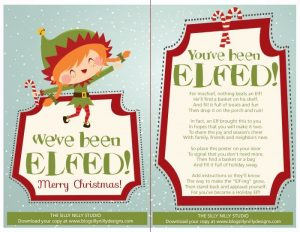 image for you've been elfed